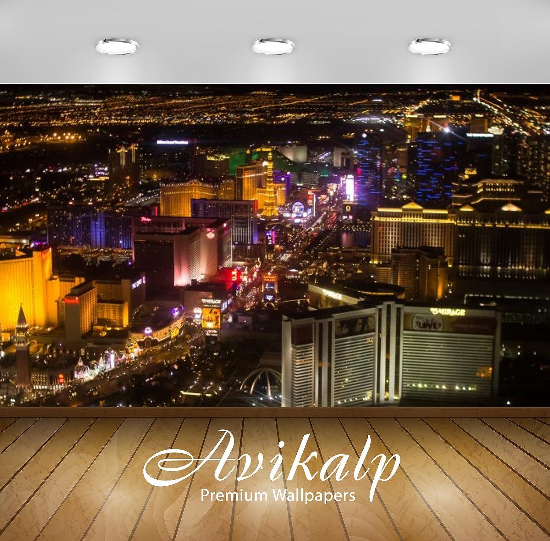 Buy Avikalp Exclusive Awi3135 The City Of Las Vegas Nevada Night
