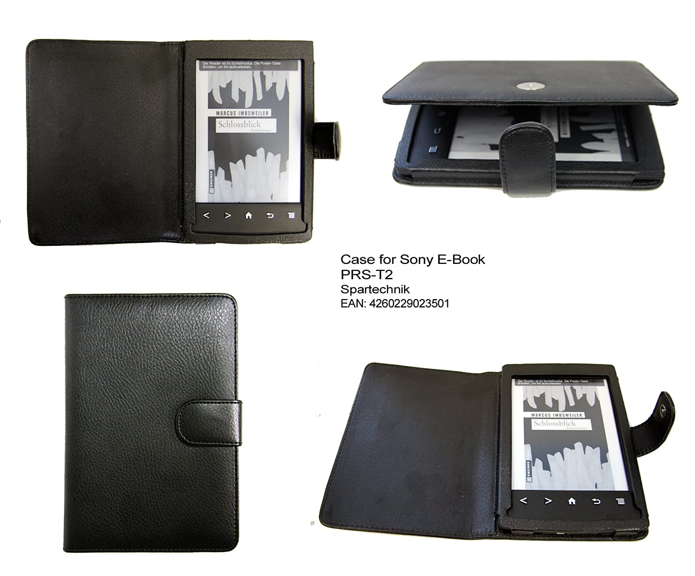 Spartechnik - Funda para e-reader Sony PRS-T2, color negro: Amazon ...