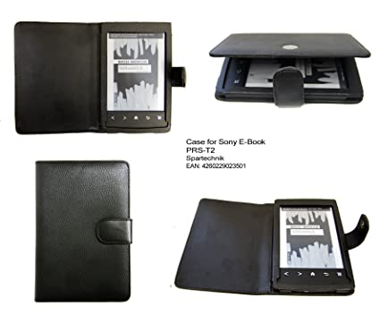 Spartechnik - Funda para e-reader Sony PRS-T2, color negro: Amazon ...
