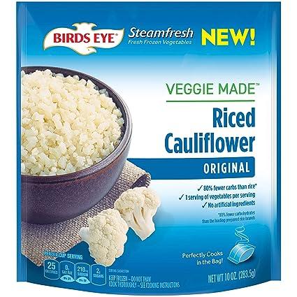 Birds Eye Steamfresh Veggie Made, Riced Cauliflower, 10 ...