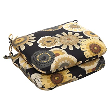 Amazon.com: 2 unidades Eco-friendly Negro & Amarillo Floral ...