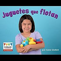 Juguetes que flotan (Engage Literacy en español Magenta) (Spanish Edition) book cover