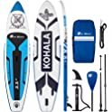 Runwave Inflatable Stand Up Paddle Board Kit with Premium SUP Accessories