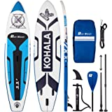 Runwave Inflatable Stand Up Paddle Board 11'×33''×6''(6'' Thick) Non-Slip Deck with Premium SUP Accessories | Wide Stance, Bo