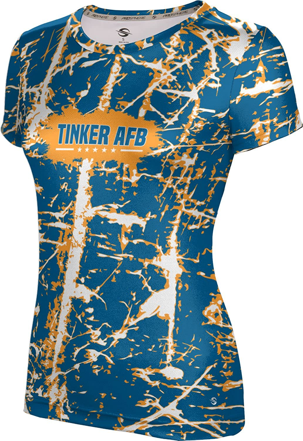 ProSphere Women's Tinker AFB Military Distressed Tech Tee