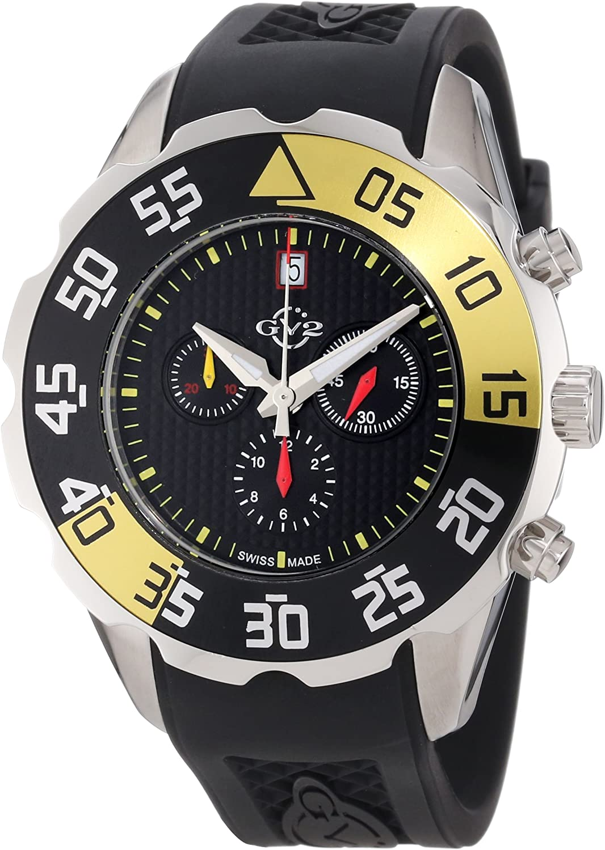 gevril gv2 herren armbanduhr parachute chronograph 3000r