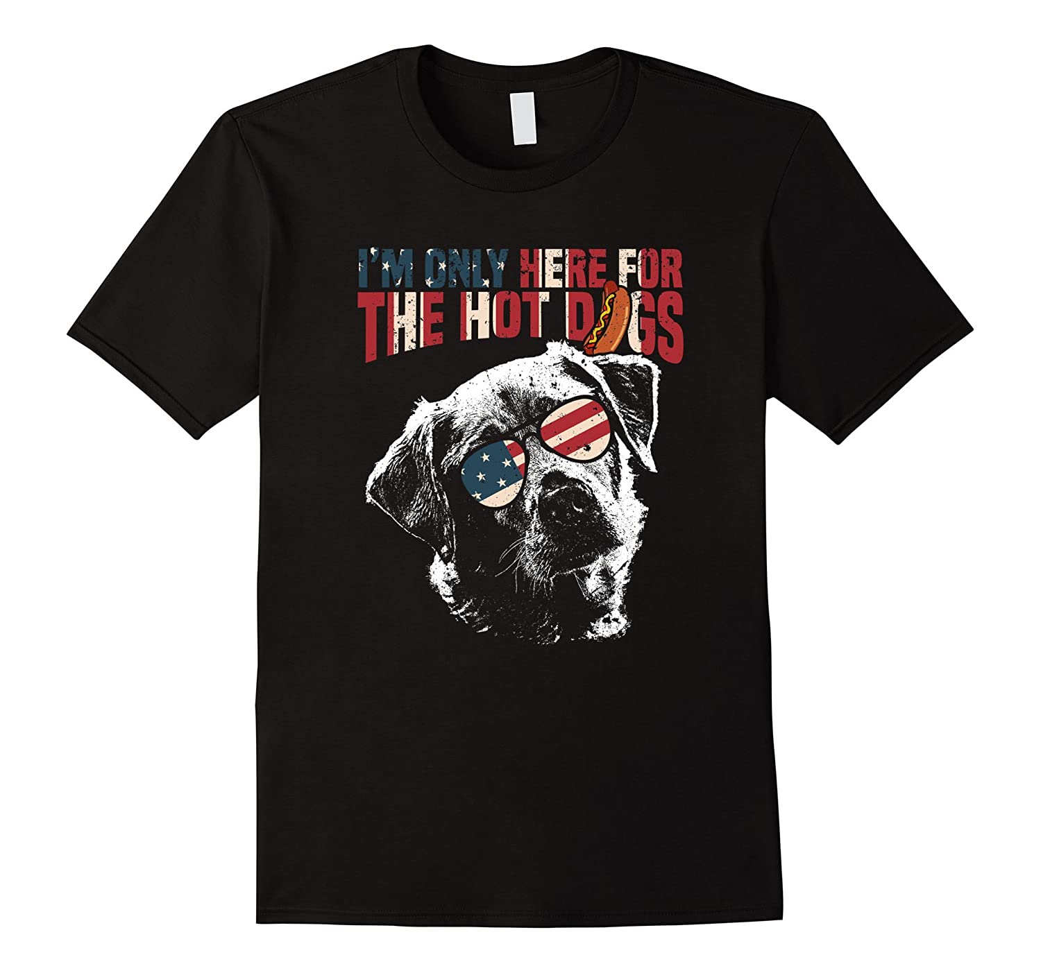 Labrador Shirt Funny 4th of July Pup Tee-TH