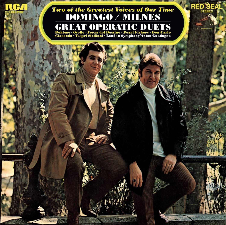 CD : Sherrill Milnes - Placido Domingo: Great Opera Duets (CD)