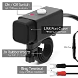 GoHawk Waterproof SAE to Dual USB Charger Adapter