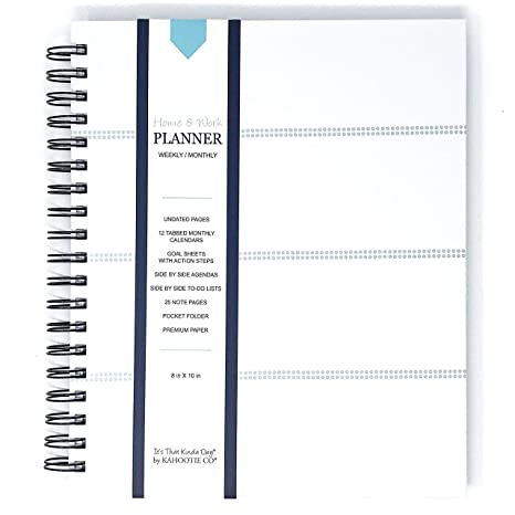 amazon com it s that kinda day home work weekly planner