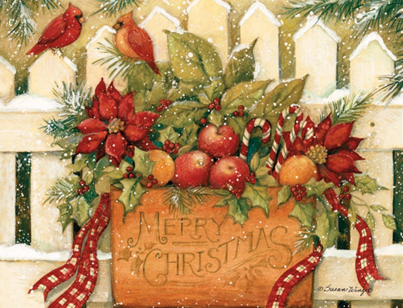 LANG 1004675 -Merry Christmas Welcome, Boxed Christmas Cards ...
