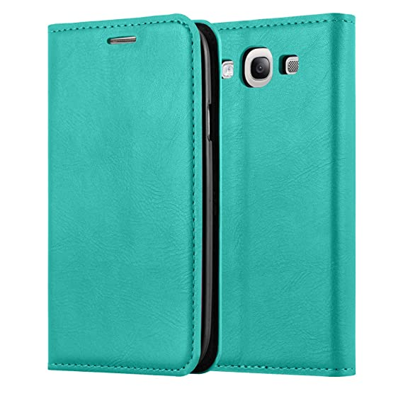 new style 77ad3 a03a8 Galaxy S3 / S3 Neo Case, JAMMYLIZARD Leather Swiss Wallet Flip Cover for  Samsung Galaxy S3 / S3 Neo, Emerald Green