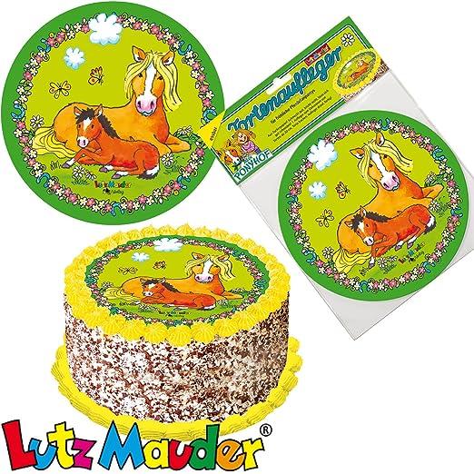 Lutz Mauder Tarta, * Pony * como decoración para tartas y ...
