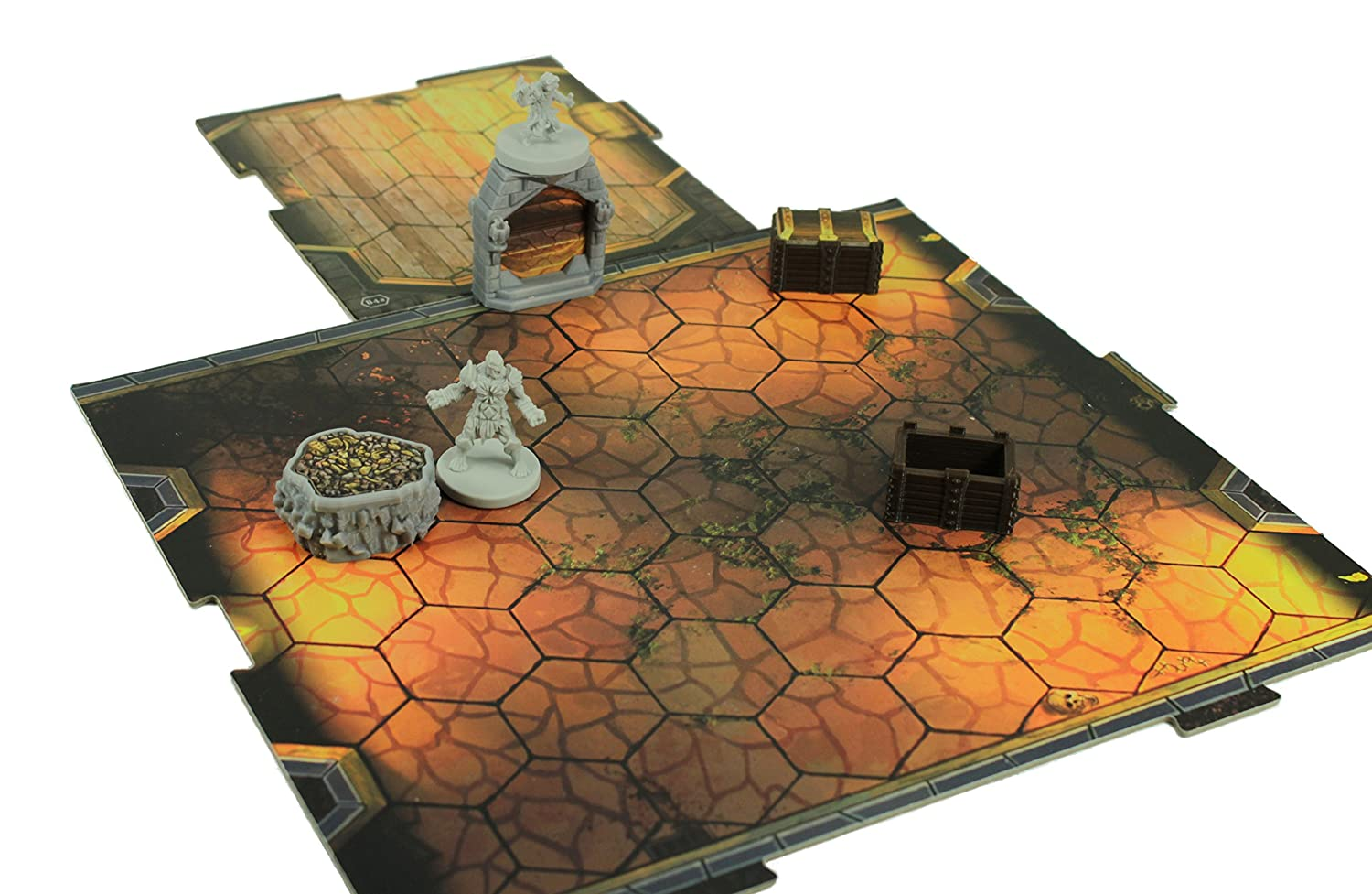 Bases and doors on tiles