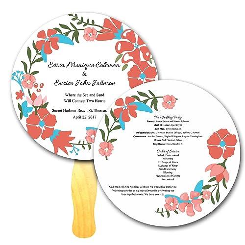 Amazon com: Flower Wreath Circle Shaped Custom Printed