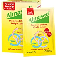 Almased SOYA, Yogurt and Honey Meal Replacement for Weight Loss Single Serving Sachets, 500 g
