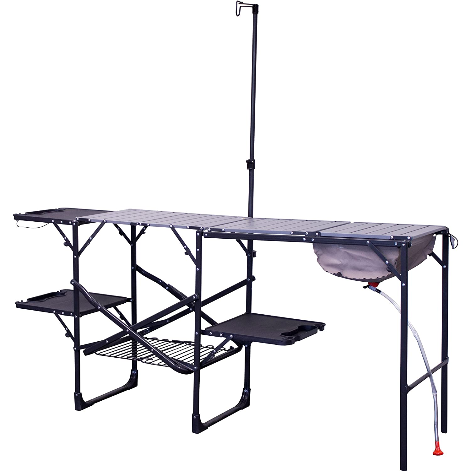 GCI Outdoor Master Cook Portable Folding Camp Kitchen