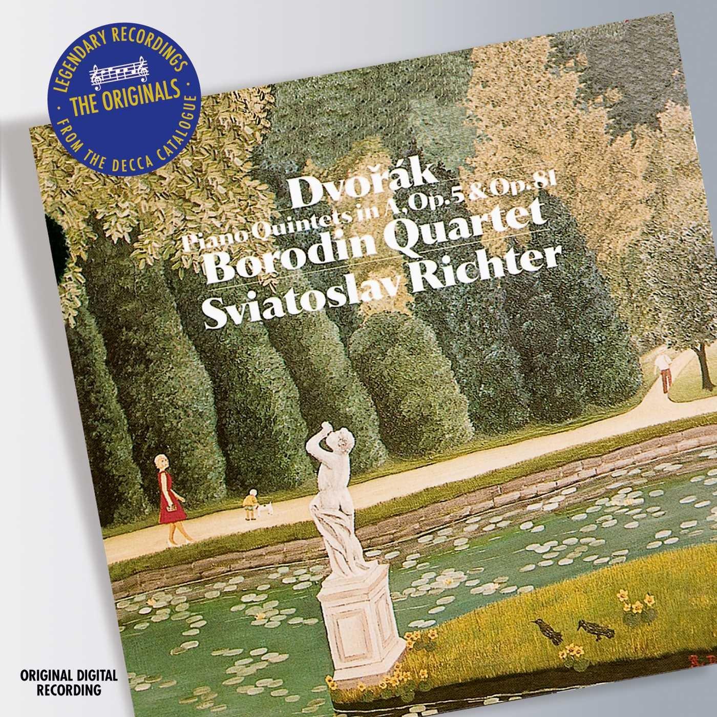 Dvorak: Piano Quintets, Opp. 5 & 81 by Decca Music