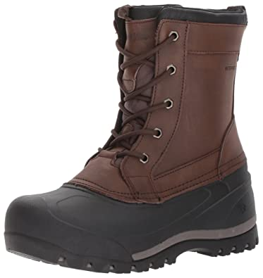 Northside Men's Cornice Snow Boot, Chocolate, ...