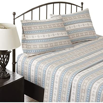 Amazoncom Woolrich Flannel California King Bed Sheets Casual