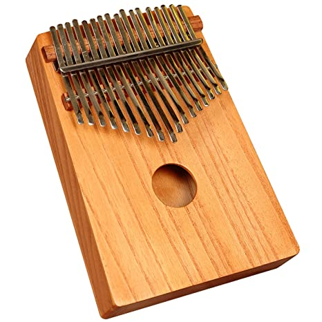 Piano da pollice, kalimba africana in legno di cedro rosso della ...
