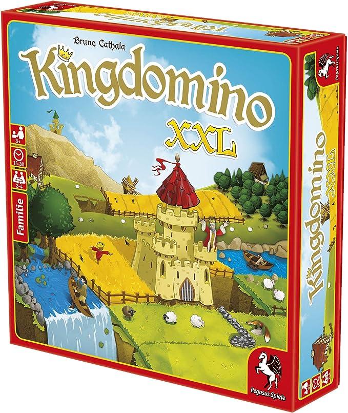 Pegasus Spiele 57125G Kingdomino XXL - Juego de Mesa (Contenido en alemán): Amazon.es: Juguetes y juegos