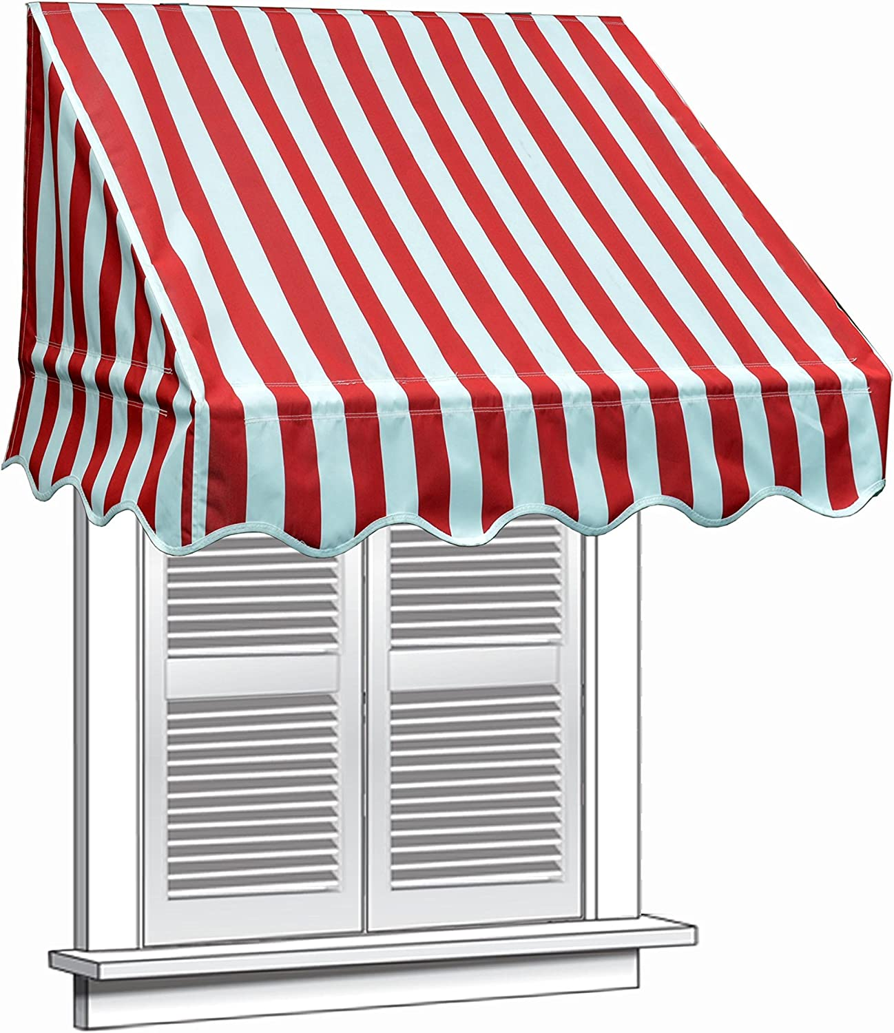 Circus Party Door and Window Awnings