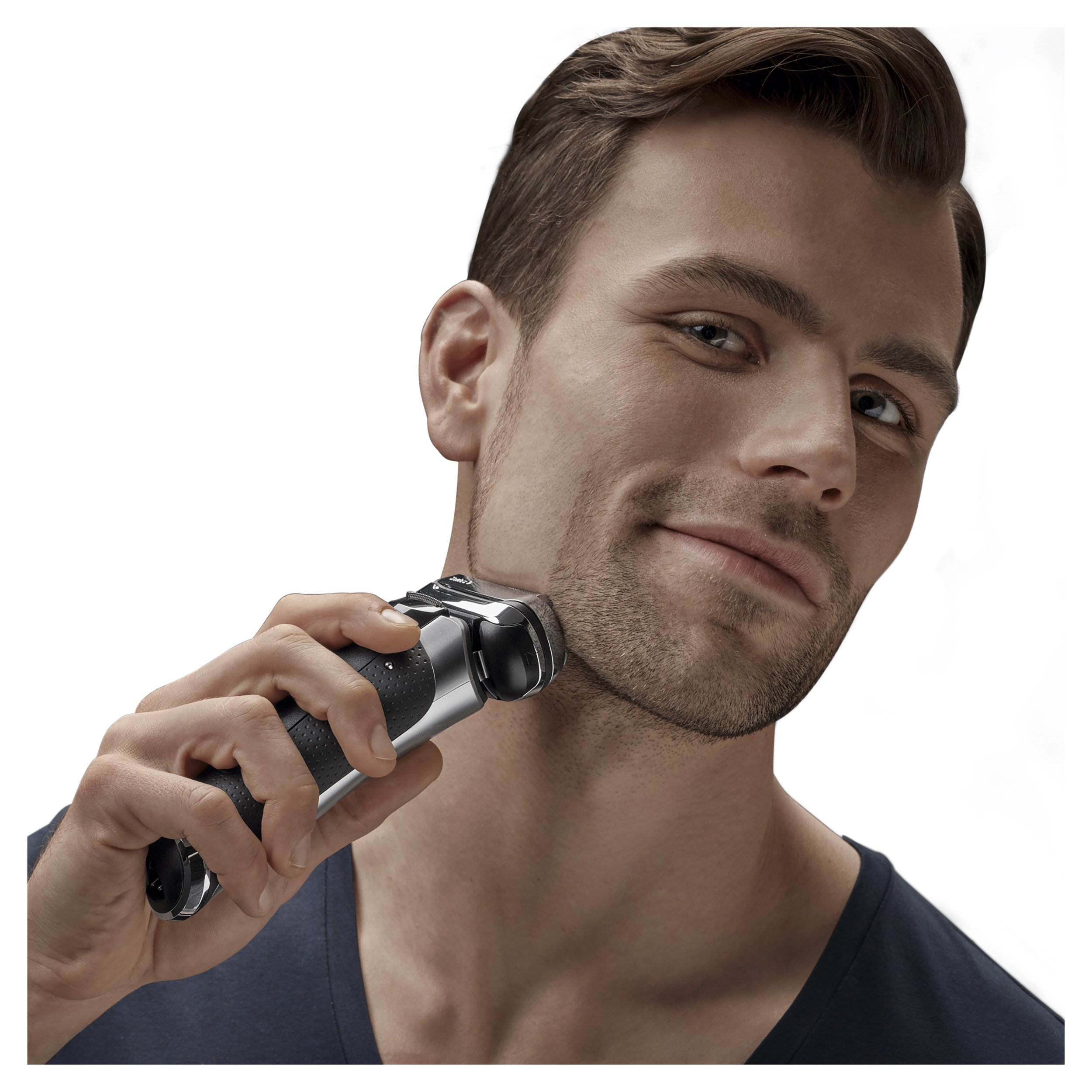 Braun Series 9290CC Men's Electric Foil Shaver / Electric Razor, Wet & Dry, Travel Case with Clean & Charge System by Braun (Image #3)