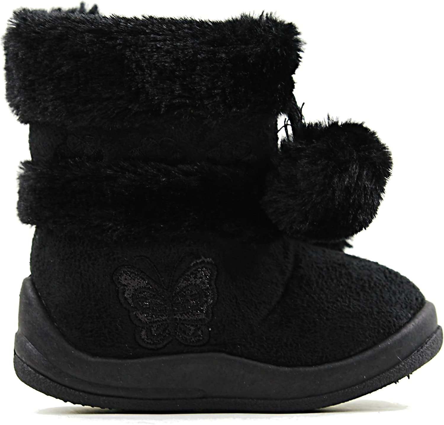 Kali Zello Baby Infant Girls Flat Snow Fashion Cute Booties Boots