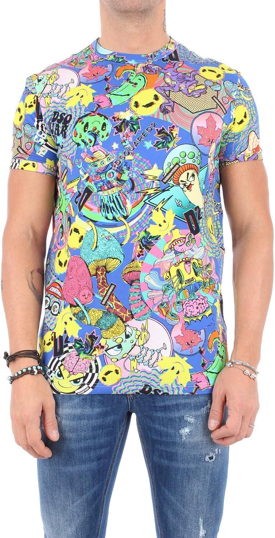 DSQUARED UNDERWEAR Camiseta Dsquared2 Hombre D9M202510 Multicolor AI19 multicolor S: Amazon.es: Ropa y accesorios
