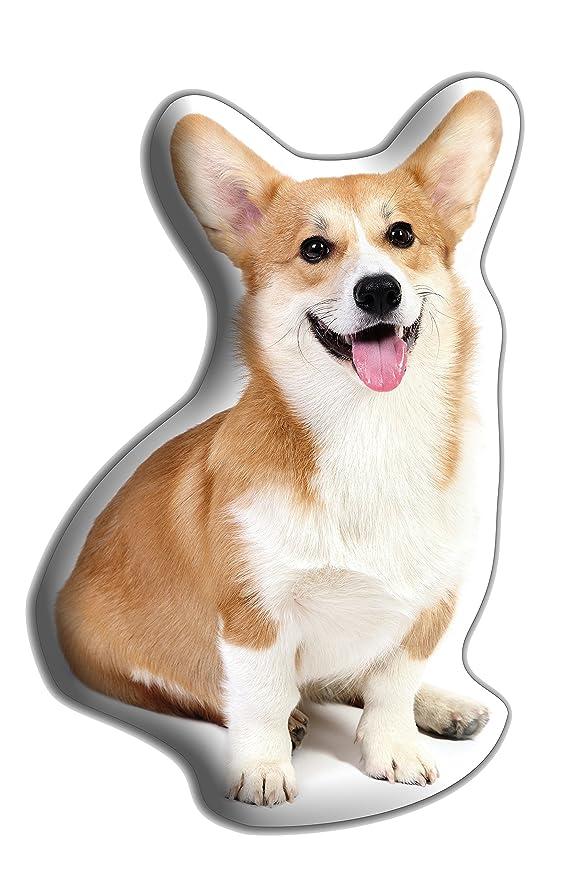Car-Pets Ltd Corgi perro grande Hug Me suave cojín - lujo ...