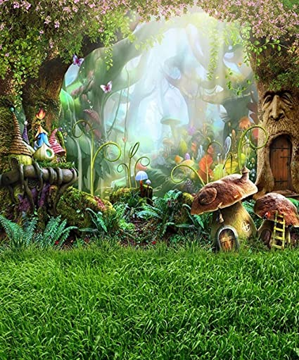 Awesome garden background cartoon pockemon images - Enchanted garden collection free download ...