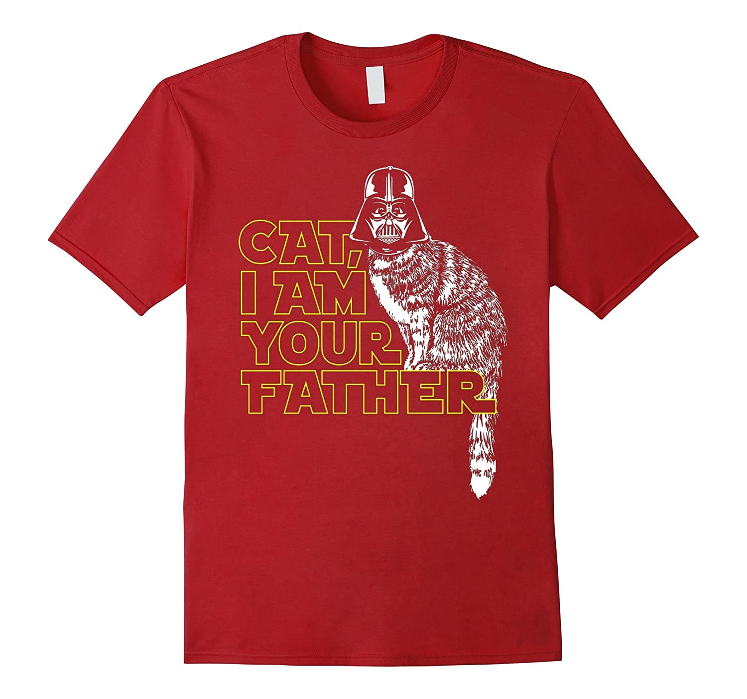 CAT, I AM YOUR FATHER FUNNY TSHIRT