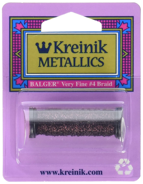 Kreinik Very Fine Metallic Braid  4 12yd-Rosa B001BERKPM B001BERKPM B001BERKPM Geflochtene Borten 665eed