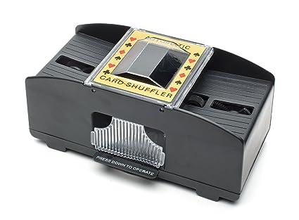 Card Shuffler Barajado de Tarjeta clásico - Estilo Casino Vegas (versión en inglés)