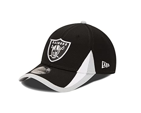 new product ec7dd f4125 NFL Oakland Raiders Team Color Training 39THIRTY Cap, Small