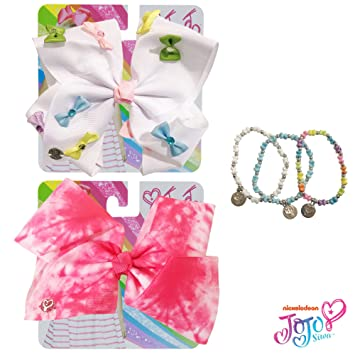 4143b0accd1 Amazon.com   Jojo Siwa Bow for Girls Bundle