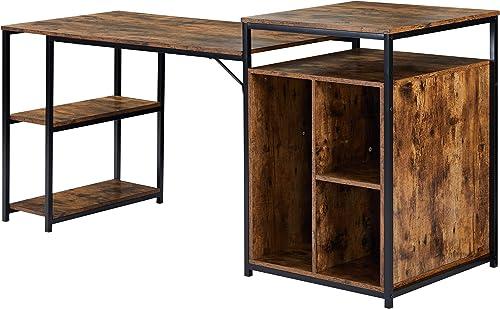 Veryke Computer Desk Home Office Desk Workstation