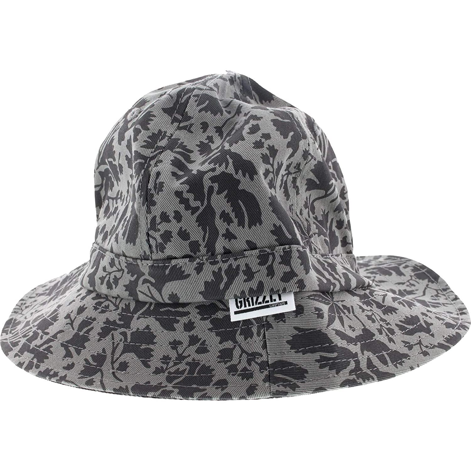 Grizzly Springfield camuflaje cubo L/xl-grey Skate sombrero ...