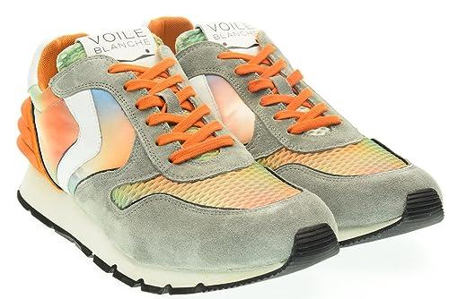VOILE BLANCHE uomo sneakers basse LIAM POWER grigio-multicolore 45 Grigio-Multicolore   Amazon.it  Scarpe e borse 04bdc0aed43