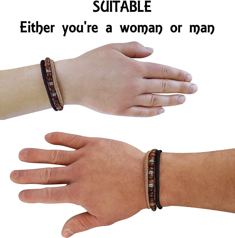 for Men /& Women Handmade with Love Lucky Buddhist Tibetan Lucky Bracelet Braided Friendship Bracelets