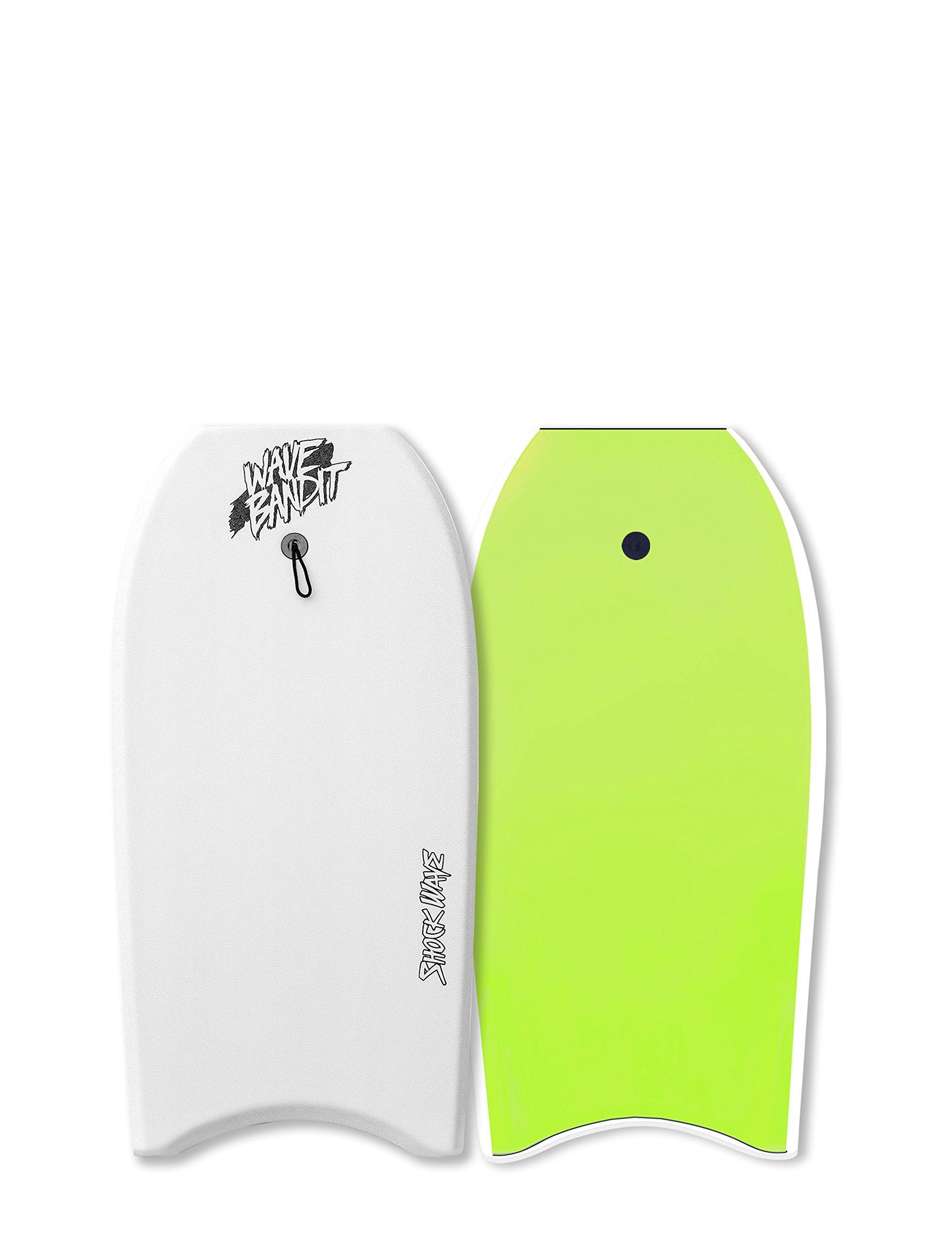 Catch Surf Wave Bandit Shockwave 36'' Body Board, White by Catch Surf