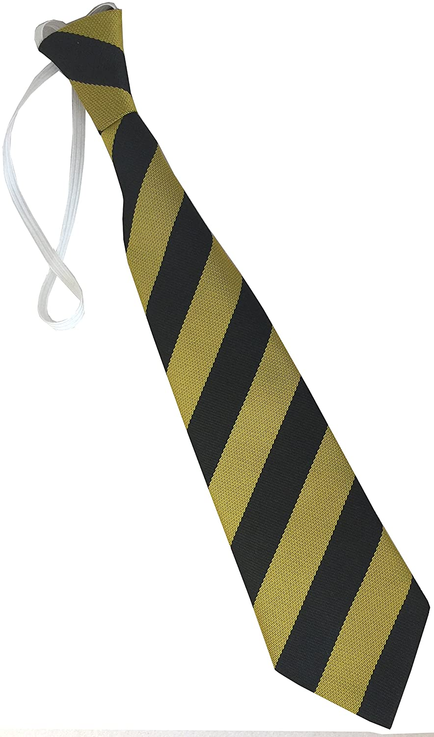 Childs Elastic Striped School Ties Infant//Primary Size