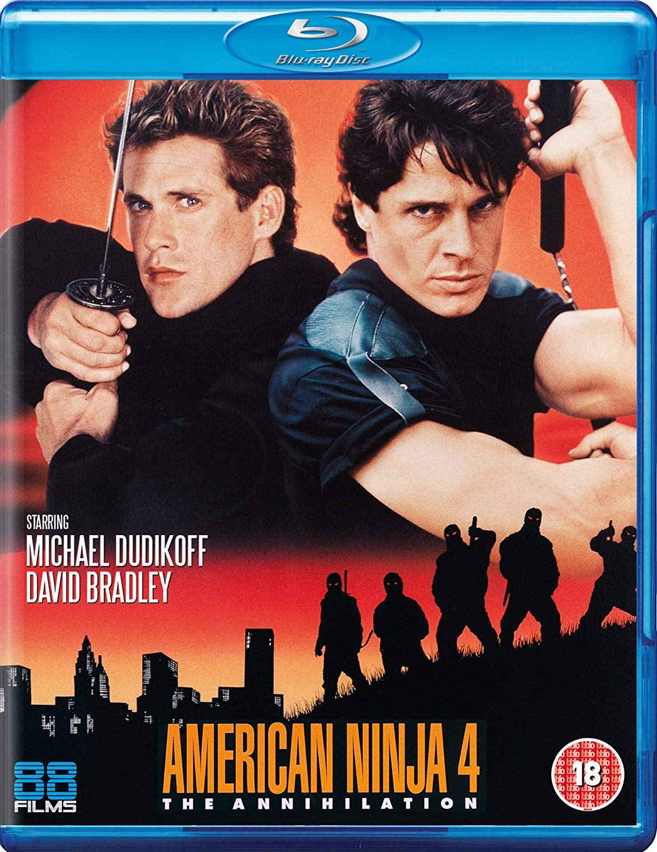 American Ninja 4: The Annihilation Blu-ray Reino Unido ...