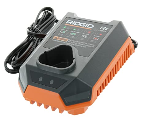 Ridgid R86045 Genuine OEM 12 Volt, 35W, 60Hz Lithium Ion Battery Charger (Battery Not Included, Charger Only)