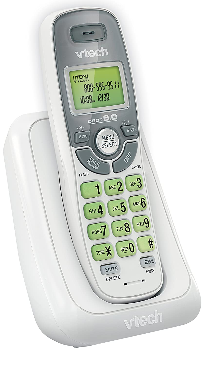 Amazon Vtech Cs6124 Dect 60 Cordless Phone With Answering