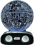 BlueSky Design Enceinte Bluetooth Sans Fil Réactive Star Wars Death Star - Noir