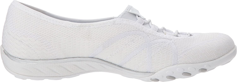Skechers Breathe Easy Sweet Jam, Sneakers Donna Bianco White