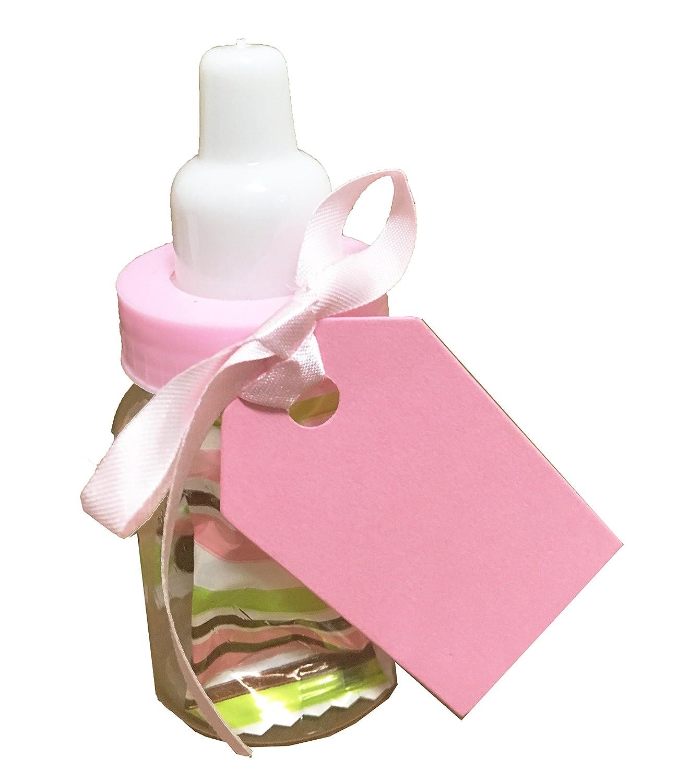 Amazon.com: Charmed Baby Bottle Shower Favor,3-Inches, Pink (2 Dozen ...