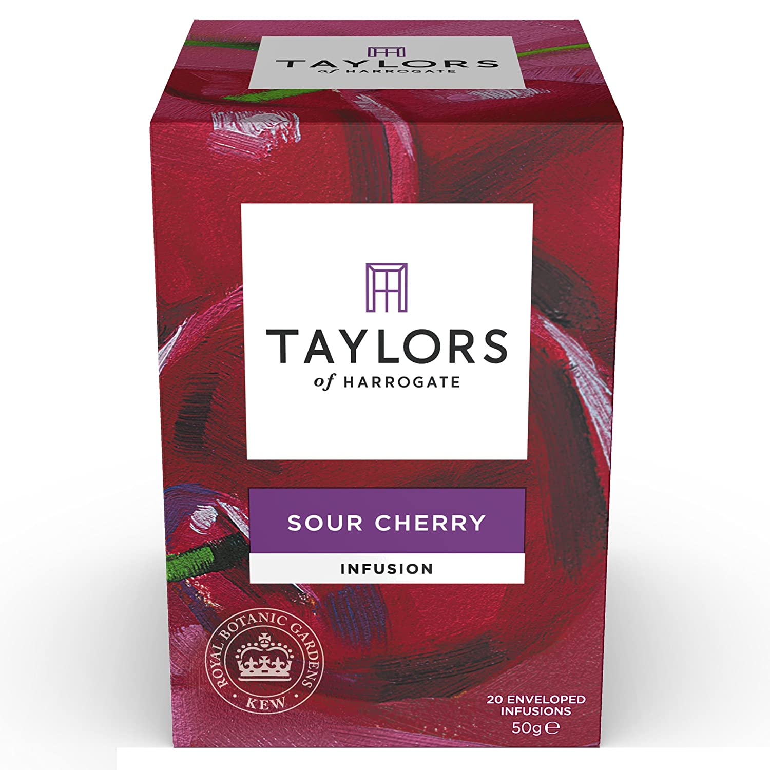 Amazoncom Taylors Of Harrogate Sour Cherry Infusion, 20 Teabags Grocery